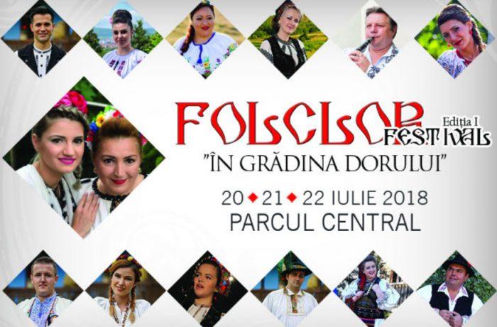 """Festival de folclor  """"În grădina dorului"""", la Turda!"""