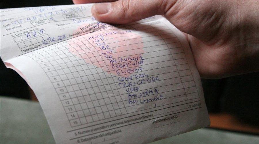 Formulare noi pentru biletele de trimitere medicală