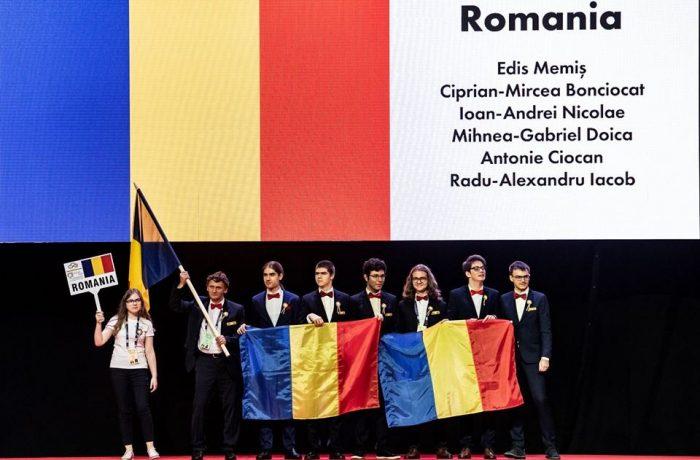 IMO 2018: Aur, agint și bronz pentru echipa României, clasată pe locul 33 din 110 țări participante