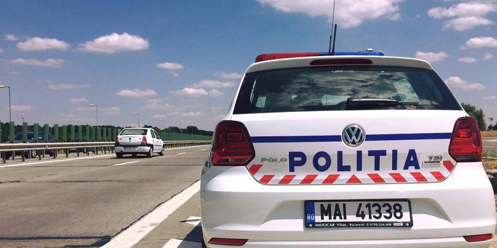 Șoferi amendaţi pentru viteză excesivă, pe autostrăzi. Recordul săptămânii, 217 km/h !