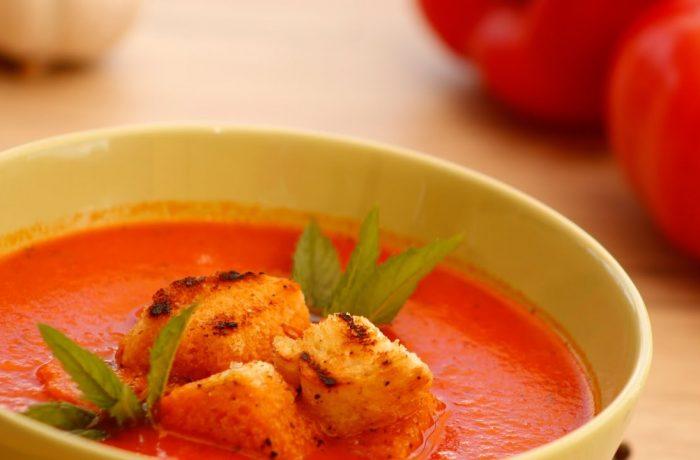 De sezon: supă cremă de roșii