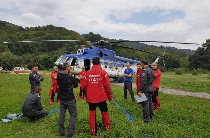 Unitatea Specială de Aviație Cluj, misiune în Munții Călimani