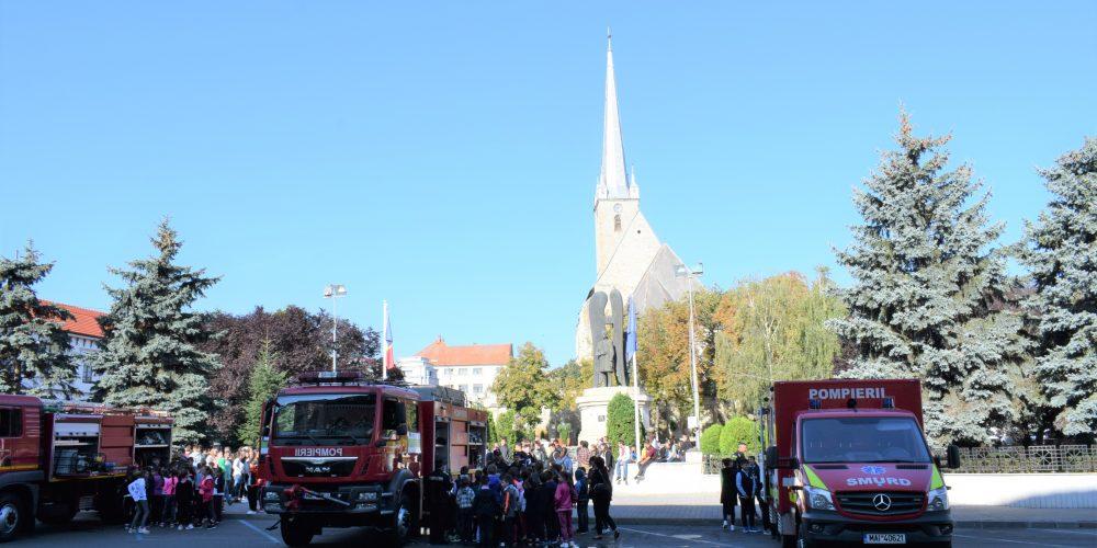 Ziua Pompierilor, sărbătorită la Dej