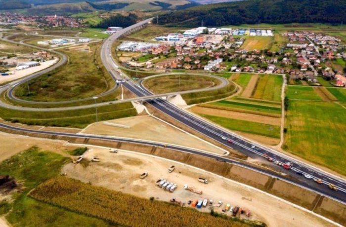 """CNAIR  recepționează vineri """"nodul Gilău"""" și  deschide circulația pe tronsonul de nouă kilometri  din A3"""