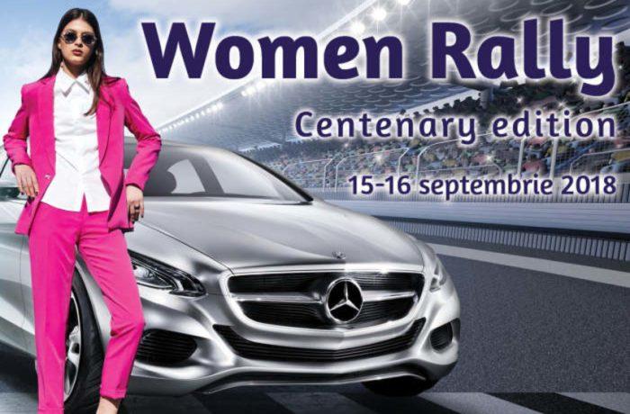 Women Rally Centenary Edition, în beneficiul copiilor din zonele defavorizate