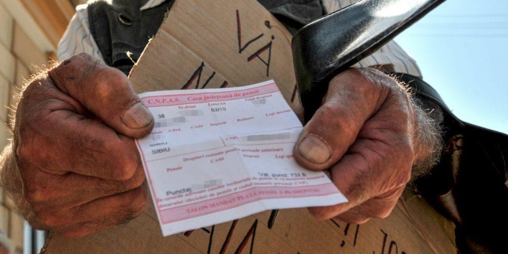 Pensie lunară de 12 mii de euro, în România!