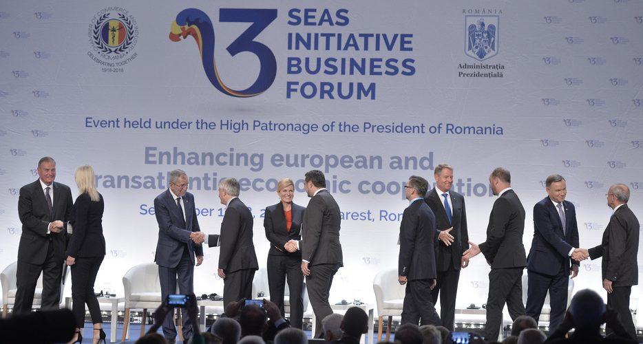 Summitul celor Trei Mări, la București