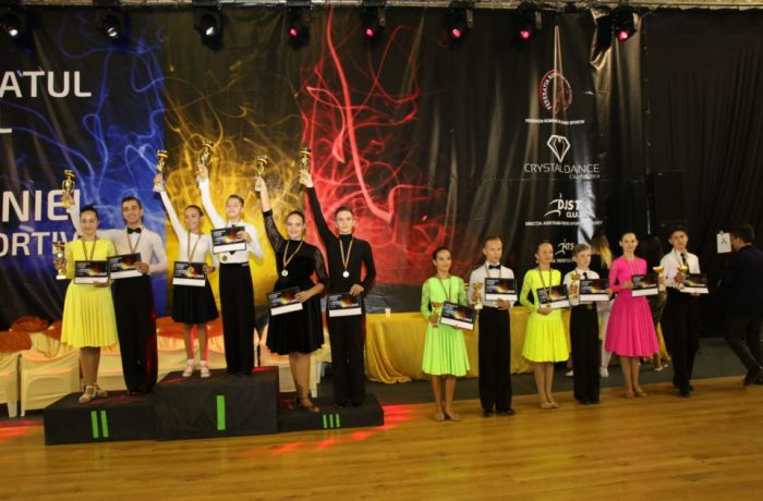 """""""Latino Angels"""" pe podium  la Campionatul Național de Dans Sportiv"""