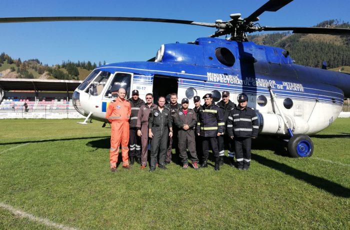 Unitatea  Specială de Aviație Cluj-Napoca, prezentă la un exercițiu combinat EXCOM – Video