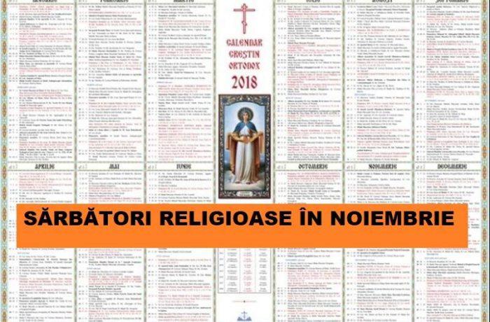 Sărbătorile religioase din luna lui Brumar