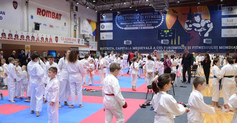 "Aur, argint și bronz, pentru sportivii ""Budokan Ryu Dej""!"
