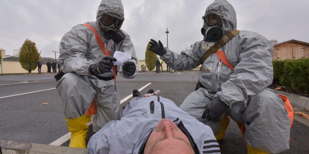 Exercițiu comun româno-american, de apărare chimică, biologică, radiologică și nucleară