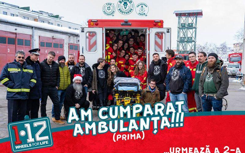 Beard Brothers au adus o ambulanță nouă la Cluj!