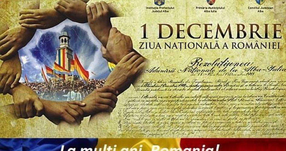 Cornel Itu: Centenarul Marii Uniri – bucurie și mândrie națională în inimile tuturor românilor!