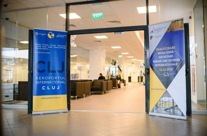 Aeroportul din Cluj a inaugurat două porți noi de îmbarcare