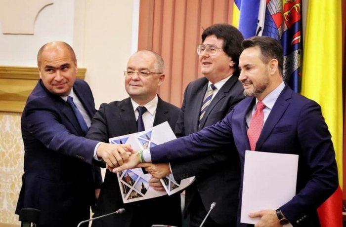 Alianța Vestului: Patru orașe din România au semnat un proiect pentru atragerea de fonduri europene