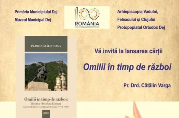 """,,Omilii în timp de război. Biserica Ortodoxă Română în perioada Primei Conflagrații Mondiale"""""""