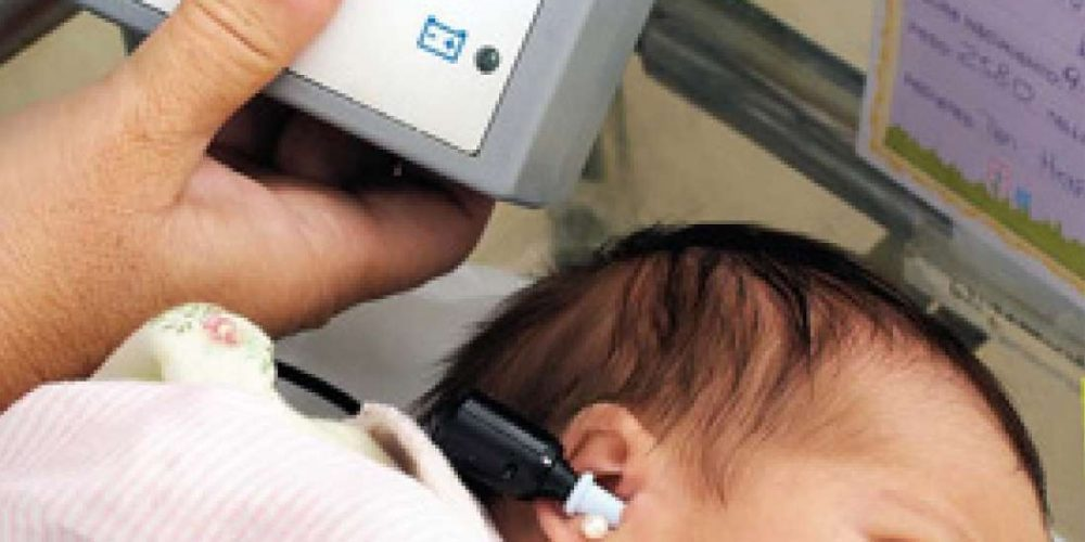 Control auditiv gratuit pentru bebeluși