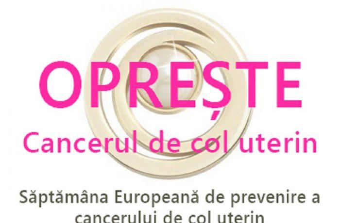 Săptămâna Europeană de Prevenire a Cancerului de Col Uterin, 21 -27 ianuarie 2019