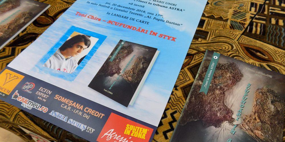 Cărțile dejenilor: TONI CHIRA și pericolul scufundării în Styx