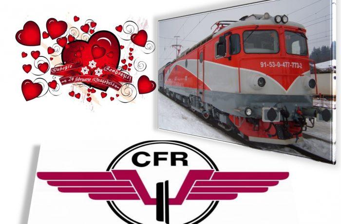 DRAG-OFERTA: Bilete de tren la jumătate de preţ de Valentine's Day şi Dragobete