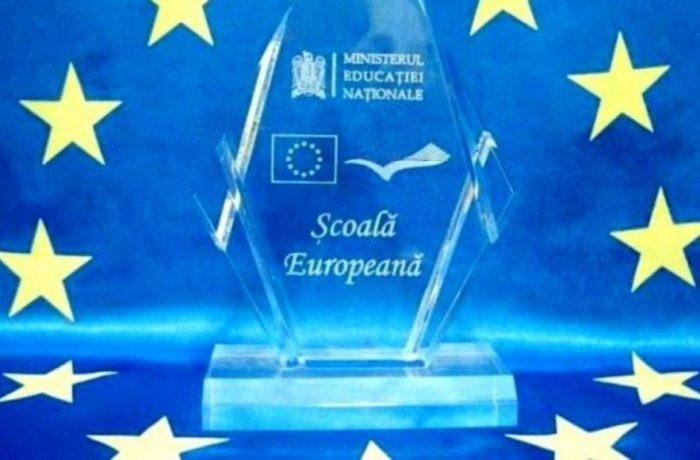 """Se fac înscrieri  pentru competiția """"Școală Europeană"""", ediția 2019"""