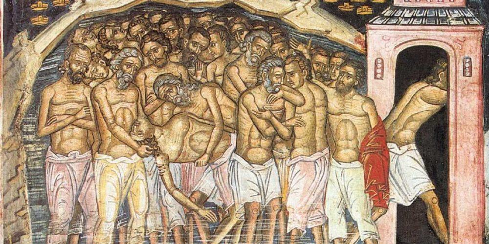 9 Martie, sărbătoarea Sfinților 40 de Mucenici