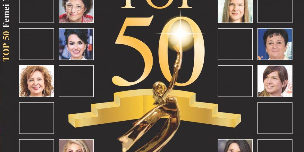 """O dejeancă în """"Top 50 Femei în Economie"""""""