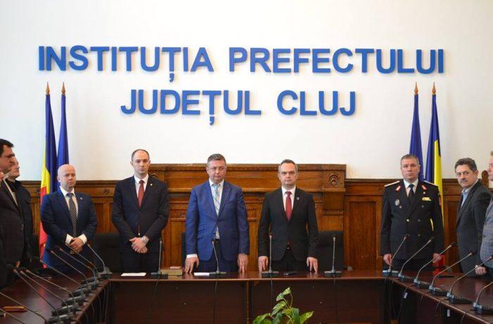 Ioan Alin Danci este noul subprefect al județului Cluj