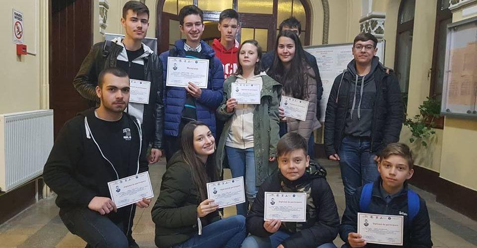 """Concursul Interjudeţean de Matematică-Informatică """"Marian Ţarină"""", ediţia 2019"""