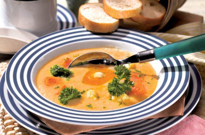 Supă cremă de fasole (din 1932)