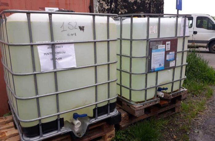 Măsuri luate de Primăria Dej pentru gestionarea situației provocate de avaria la rețeaua de alimentare cu apă