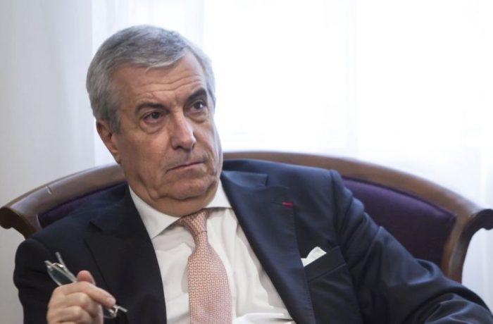 Călin Popescu Tăriceanu a demisionat de la şefia Senatului