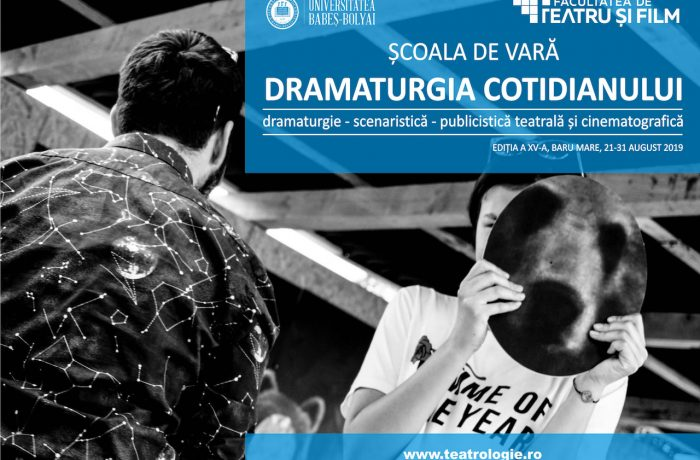 """Școala de vară """"Dramaturgia Cotidianului"""", pentru elevi și studenți"""