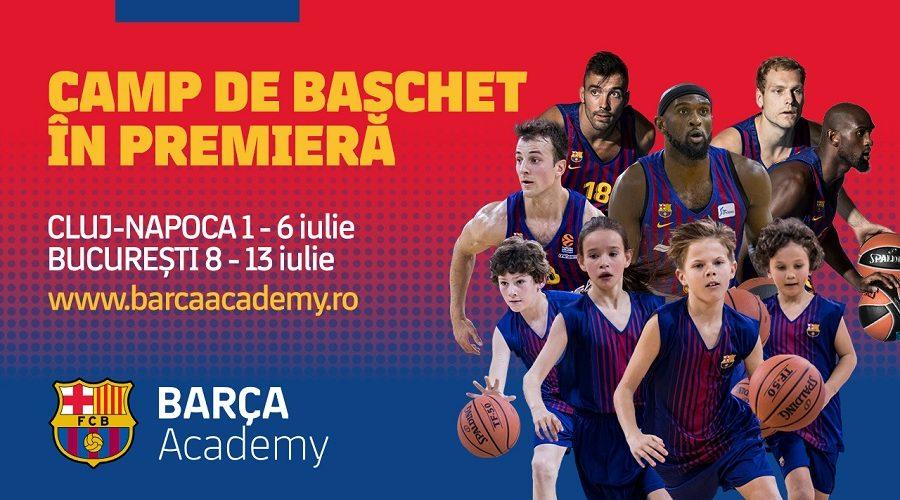 Barca Academy Baschet, la Cluj!