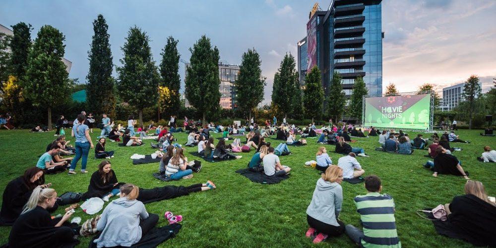 Filme gratis pentru clujeni, în parcul Iulius Mall