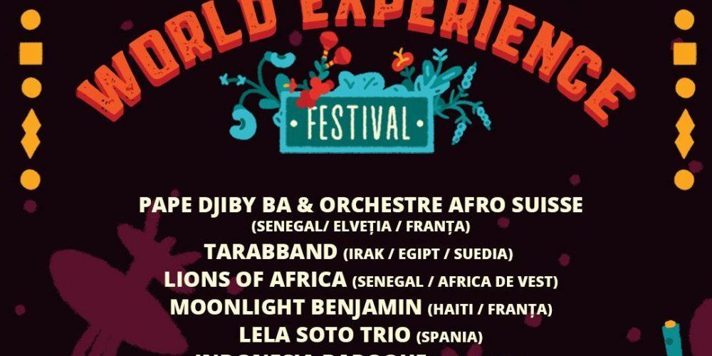 World Experience Festival, patru zile de evenimente muzicale la Cluj!