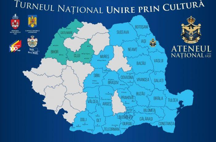 """Turneul Național """"Unire prin Cultură"""" ajunge astăzi, 4 iulie,  în Dej"""