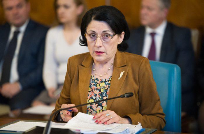 Ecaterina Andronescu a prezentat bilanțul pe 6 luni privind educația