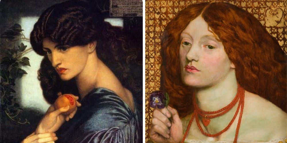 Femeia prerafaelită, frumusețe și modernitate