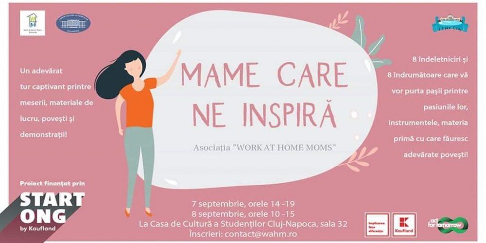 Mame care ne inspiră – Un proiect Work at Home Moms România
