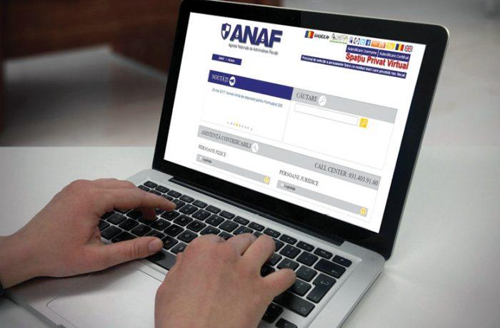 ANAF ne execută silit, online!