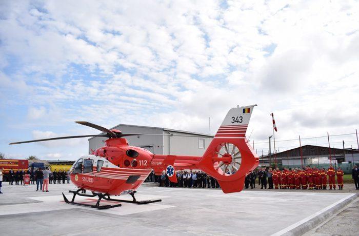 Elicopterul Bazei SMURD de la Jibou va deservi şi judeţul Cluj