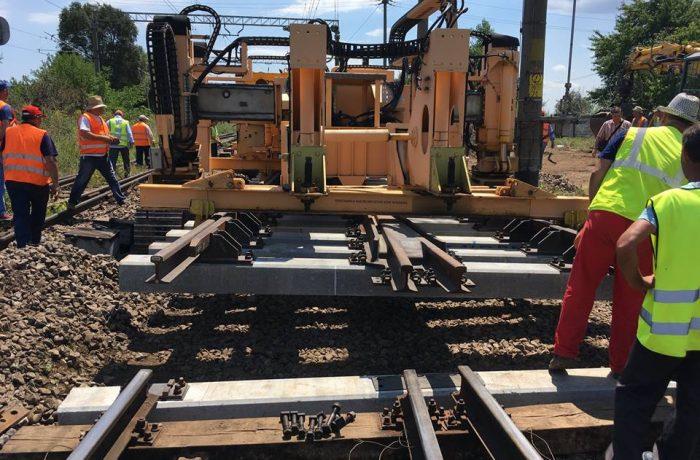 Se repară calea ferată, inclusiv pe raza  Regionalei CFR  Cluj