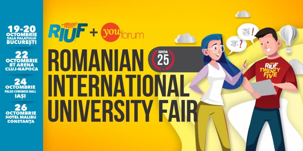 Peste 100 de universităţi şi instituţii educaţionale la RIUF