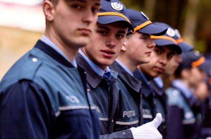 Înscrieri la concursurile de admitere în școlile de agenți de poliție