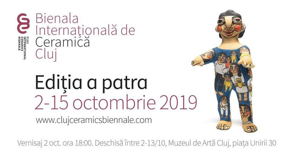 Cluj: Bienala Internaţională de Ceramică, ediția a IV -a