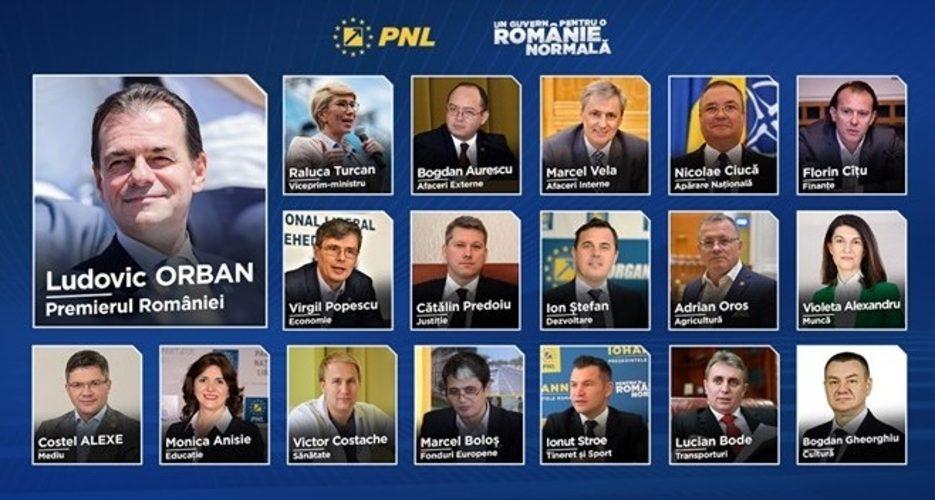 Azi încep audierile miniștrilor propuși de Ludovic  Orban