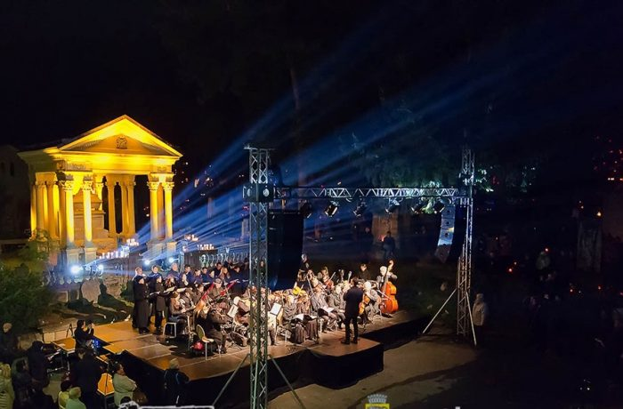 Concert REQUIEM AETERNAM de Luminație, la Cluj
