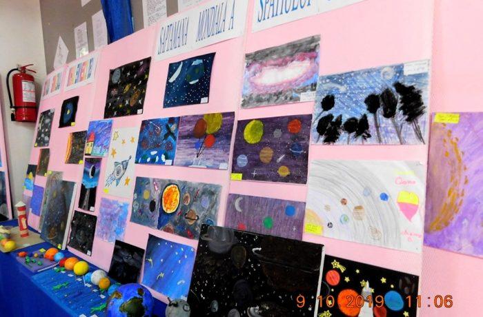 """Săptămâna Mondială a Spațiului Cosmic, la Școala """"Mihai Eminescu"""""""